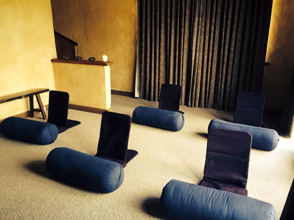 Meditation yoga room