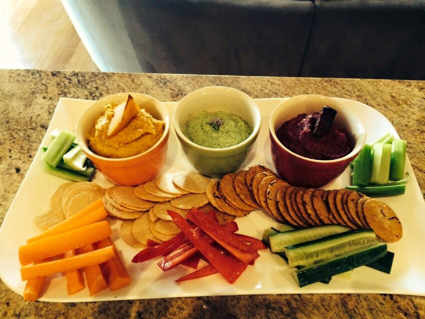 Dips and snacks