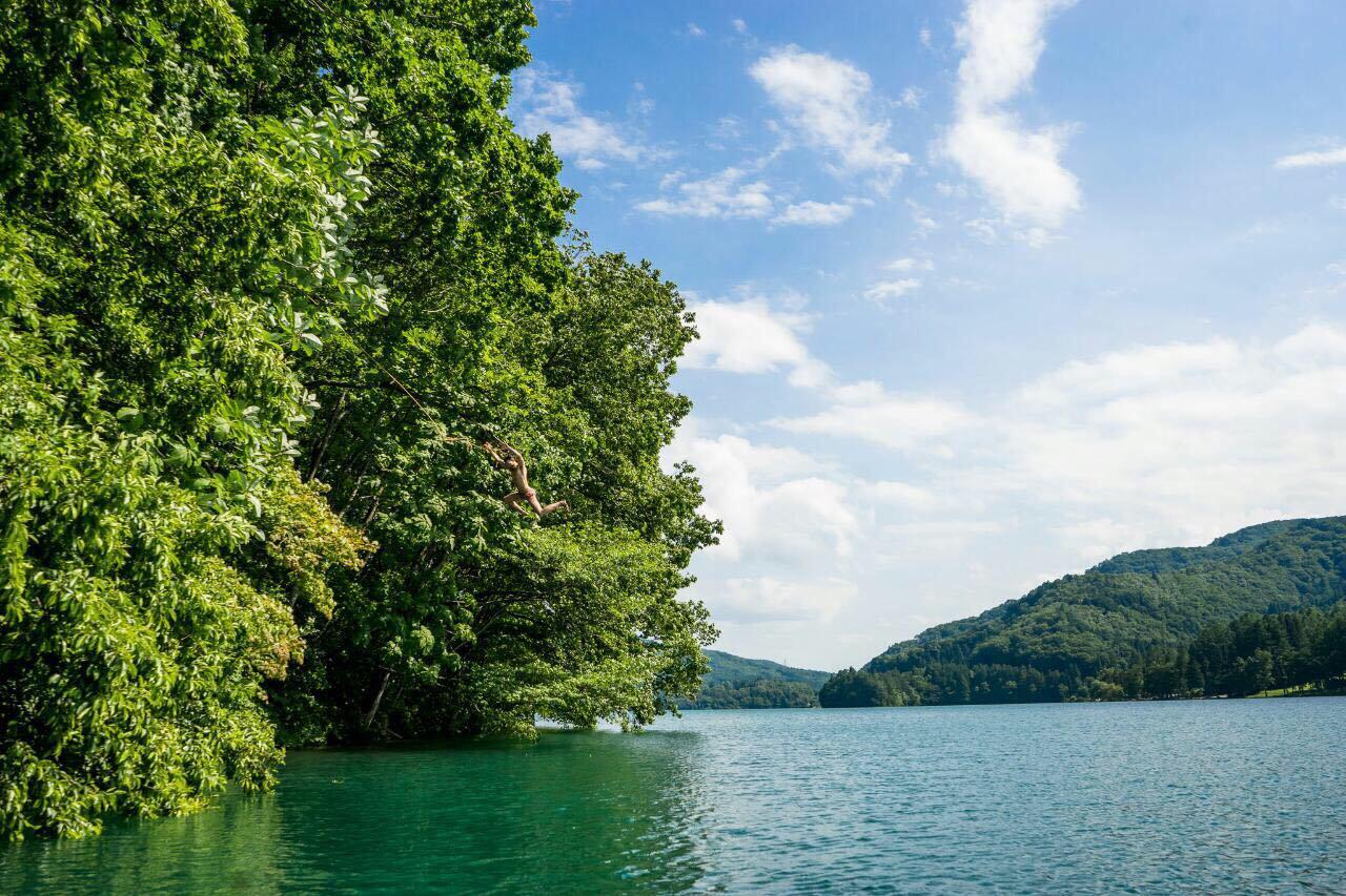 Hakuba lake